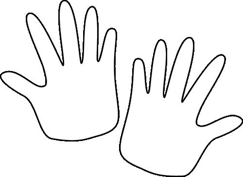 hands-black-white